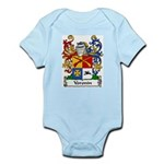 Voronin Family Crest Infant Creeper