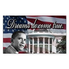 President Barack Obama Rectangle Sticker 10 pk)