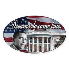 President Barack Obama Oval Decal