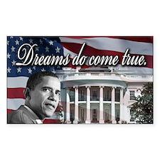 President Barack Obama Rectangle Decal