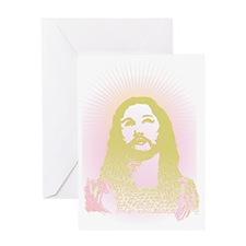 Jesus said what? Greeting Card