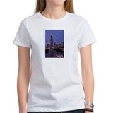 Chicago Nighttime Skyline Tee