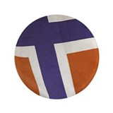 "Proud to be Norwegian! 3.5"" Button (100 pack)"