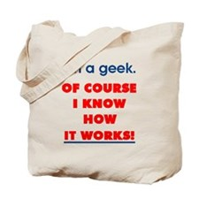 How It Works Tote Bag