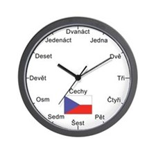 Czech Republic Wall Clock