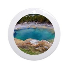 Emerdald Hot Springs Ornament (Round)