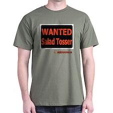 Wanted Salad Tosser T-Shirt
