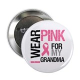 "I Wear Pink (Grandma) 2.25"" Button"