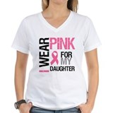 I Wear Pink Daughter Shirt