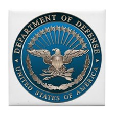 D.O.D Tile Coaster: Government Emblem