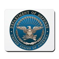 D.O.D. Mousepad: Government Emblem