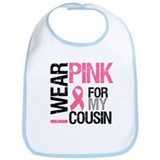 I Wear Pink (Cousin) Bib