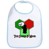 The Sheep Is Mine Catan Bib