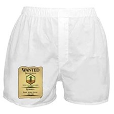 Catan Wanted Poster Boxer Shorts