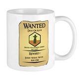 Catan Wanted Poster Coffee Mug