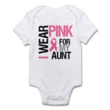 I Wear Pink (Aunt) Infant Bodysuit