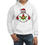 Masonic Jolly old St. Nick Hooded Sweatshirt