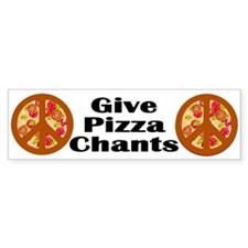 Give Pizza Chants (peace symbols)