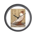 WOE Peach Laced Wall Clock
