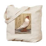 WOE Peach Laced Tote Bag