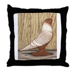 WOE Peach Laced Throw Pillow