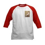 WOE Peach Laced Kids Baseball Jersey