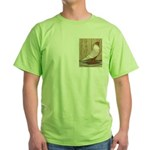WOE Peach Laced Green T-Shirt