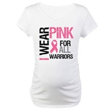 I Wear Pink Warriors Shirt