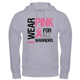 I Wear Pink Warriors Hoodie