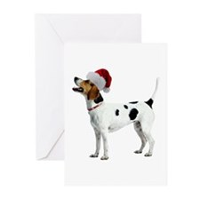 English Foxhound Christmas Greeting Cards (Pk of 1