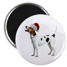 English Foxhound Christmas Magnet
