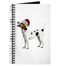 English Foxhound Christmas Journal