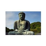 Great Buddha Rectangle Magnet (10 pack)