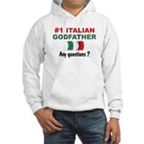 #1 Italian Godfather Hoodie Sweatshirt