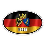 Essen coat of arms (white letters)