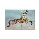 Carousel Jumper Rectangle Magnet (100 pack)