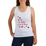 My Baby has Paws Women's Tank Top