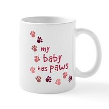 My Baby has Paws Mug