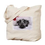 Christmas Blue Heeler Tote Bag