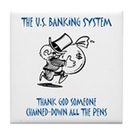 Banking System Tile Coaster