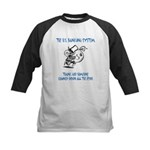 Banking System Kids Baseball Jersey