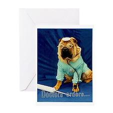 Doctor Pei Greeting Card