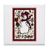 Winter Delights Tile Coaster