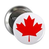 "Canadian Maple Leaf 2.25"" Button"