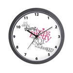 Being Pretty Clock Wall Clock