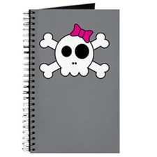 Cute Skully Journal