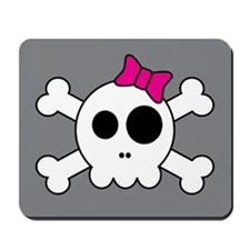Cute Skully Mousepad
