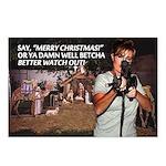 Sarah Palin War on Christmas Postcards (8 pk)