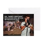 Sarah Palin War on Christmas Greeting Cards (10pk)