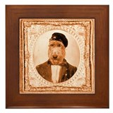 Irish Wolfhound RUPERT Framed Tile